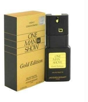 Jacques Bogart One Man Show Gold Eau De Toilette Spray - 3.3 oz by