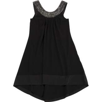 Jasmine Di Milo Black Silk Dress for Women