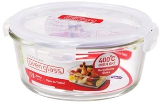 Lock & Lock Boroseal Heat Resistant Glass Round - 950ml