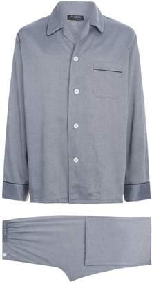 Harrods Birdseye Print Pyjama Set