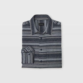 Club Monaco Winter Stripe Overshirt