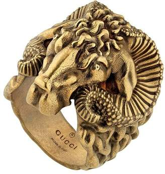 Gucci Metal ring with Aries