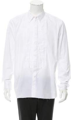 Givenchy Frayed Button-Up Shirt