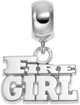 "Insignia Collection Sterling Silver ""Fire Girl"" Charm"