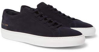 Common Projects Original Achilles Suede Sneakers - Men - Navy
