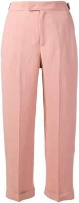 Twin-Set straight cropped trousers