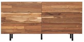 EQ3 Reclaimed Teak 6 Drawer Double Dresser EQ3