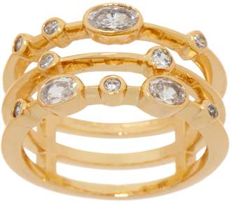Melinda Maria Three Band Stack Ring