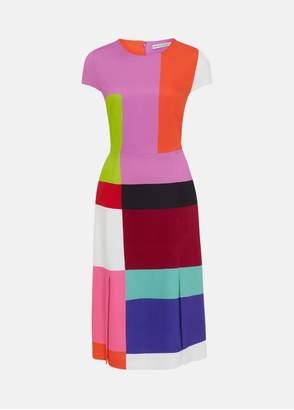 Mary Katrantzou Osmond Dress Colour Block
