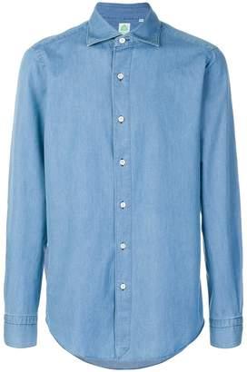 Finamore 1925 Napoli classic denim shirt