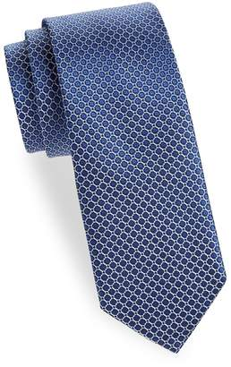 Saks Fifth Avenue Made in Italy Men's Printed Silk Tie