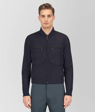 Bottega Veneta DARK NAVY POLYESTER JACKET