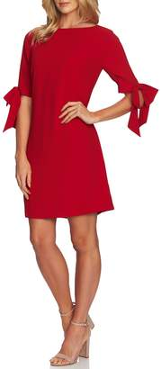 CeCe Moss Crepe Shift Dress