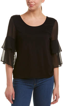 BCBGeneration Tiered Sleeve Top