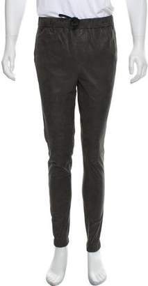 Vince Casual Leather Joggers w/ Tags