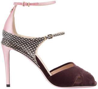 Fendi colour block sandals