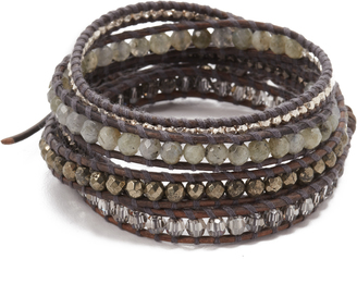 Chan Luu Mixed Up Wrap Braclet $220 thestylecure.com