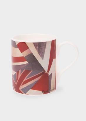 Paul Smith 'Union Jack' Print Bone China Mug