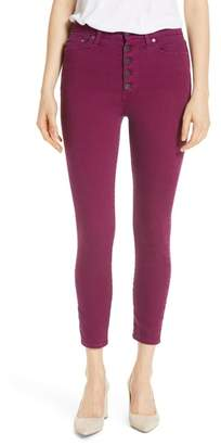 Fly London AO.LA Good High Rise Exposed Button Colored Jeans