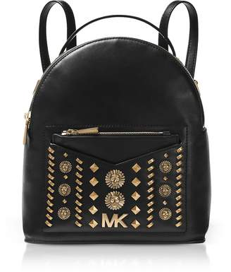 Michael Kors Jessa Small Embellished Leather Convertible Backpack