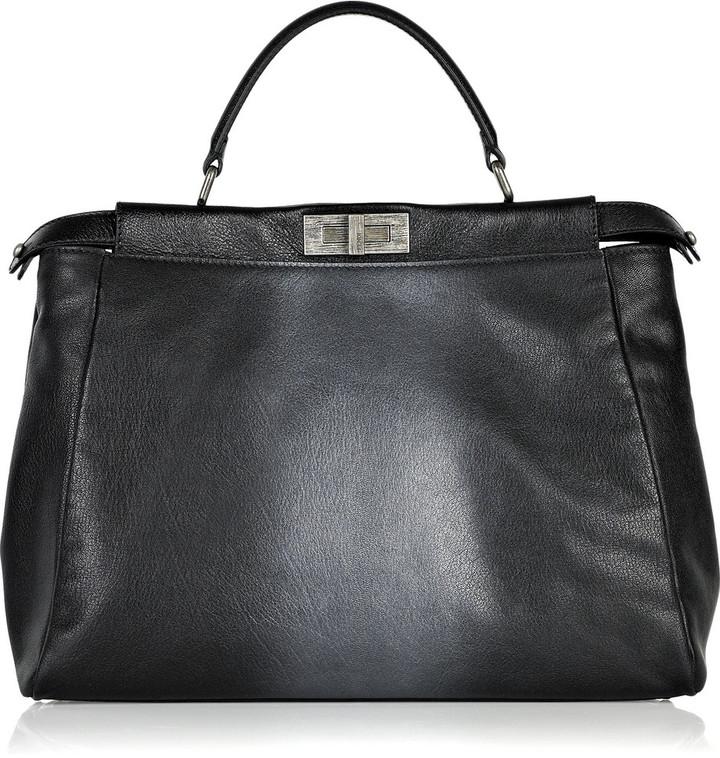Fendi Peek-a-boo leather bag