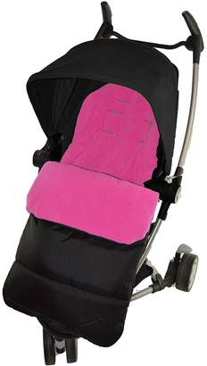 Quinny For Your Little One Footmuff/Cosy Toes Compatible with Yezz Pushchair Pink Rose