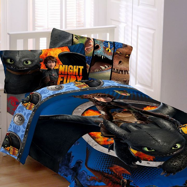 DreamWorks How to Train Your Dragon 2 Dragon Flyer 4-pc. Bed Set - Twin