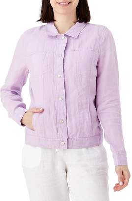 Olsen Denim-Style Linen Jacket