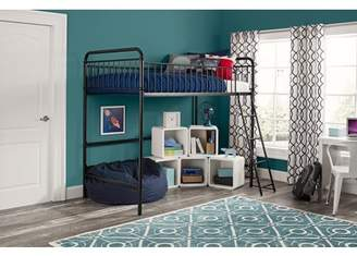Better Homes & Gardens Better Homes and Gardens Kelsey Twin Metal Loft Bed, Multiple Colors