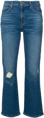 IRO distressed cropped jeans