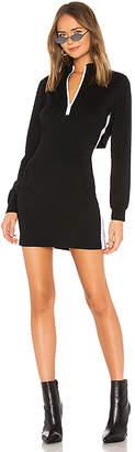 Bobi Athleisure Jersey Zip Dress