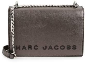 Marc Jacobs Double Take Metallic Leather Convertible Crossbody