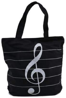 DAY Birger et Mikkelsen Tinksky Music Symbols Print Canvas Tote Handbag Shoulder Shopping Bags Valentine's gift Random Color