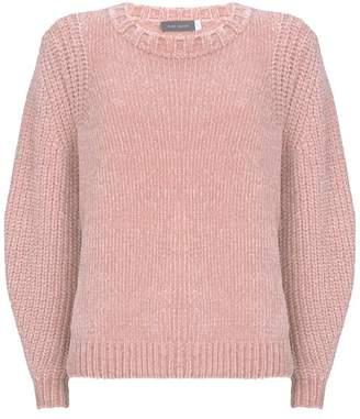 Mint Velvet Blush Chenille Cropped Knit