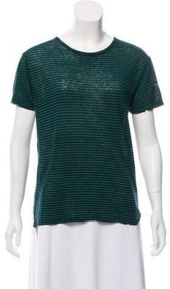Alexander Wang Linen Stripe T-Shirt