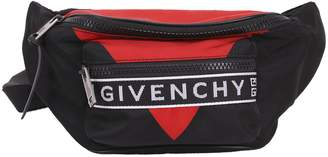 Black And Red Belt Bag