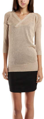 VPL Sustentation Sweater in Taupe