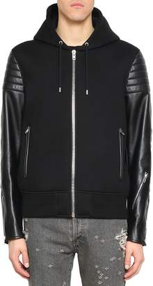 Givenchy Neoprene And Leather Jacket