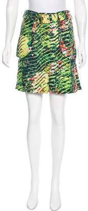 Kenzo Belted Mini Skirt
