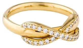 Tiffany & Co. Diamond Infinity Pinky Ring