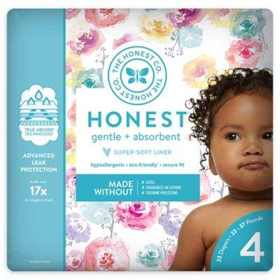The Honest Company Honest 23-Pack Size 4 Diapers in Rose Blossom Pattern