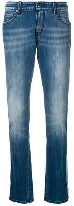 Jacob Cohen side stripe straight jeans