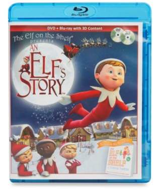 The Elf on the Shelf® An Elf's StoryTM Blu-Ray/DVD Combo Pack