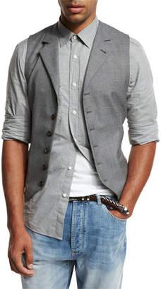 Brunello Cucinelli 6-Button Wool Waistcoat