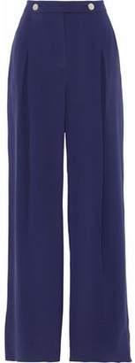 Valentino Silk Wide-Leg Pants