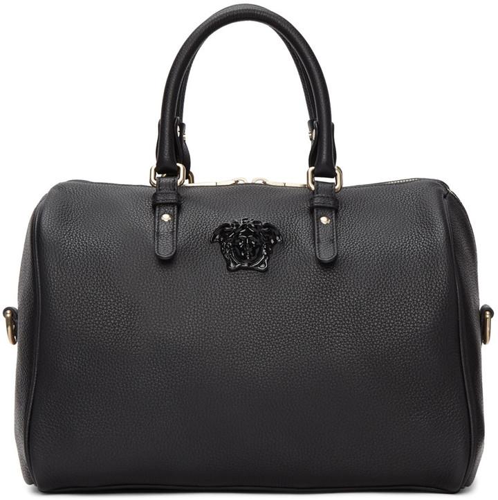 VersaceVersace Black Barrel Duffle Bag