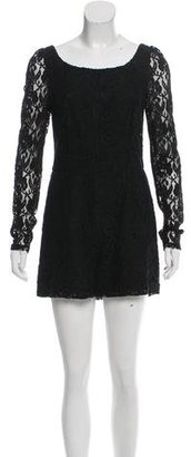 Alice by Temperley Long Sleeve Lace Romper $75 thestylecure.com