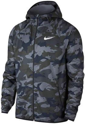 Nike Men's Woven Camo-Print Training Jacket