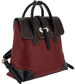 As Is Dooney & Bourke Verona Leather Miranda Backpack $155 thestylecure.com