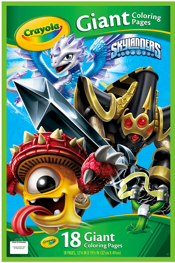 Skylanders Giant Coloring Book